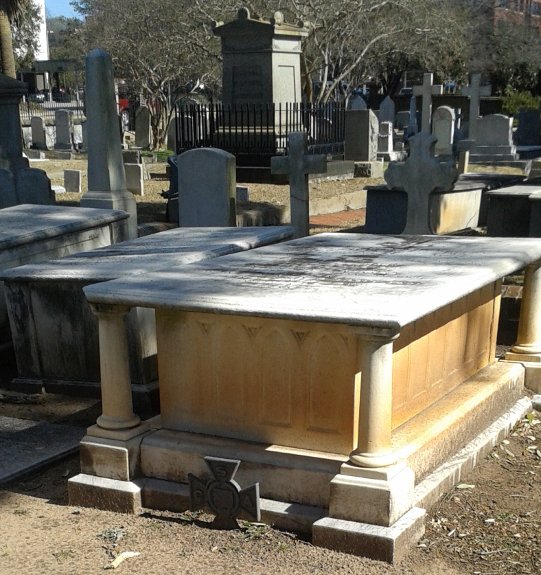 The burial place of Gen. Wade Hampton III