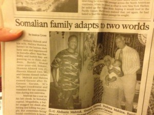 Somalian family adapts to two worlds